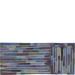 Abstract Contemporary Textile Painting / Art Quilt - Structures #100 ©2009 Lisa Call