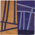 Abstract Contemporary Textile Painting / Art Quilt - Structures #117 ©2010 Lisa Call