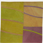 Abstract Contemporary Textile Painting / Art Quilt - Structures #142 ©2012 Lisa Call