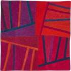 Abstract Contemporary Textile Painting / Art Quilt - Structures #146 ©2013 Lisa Call