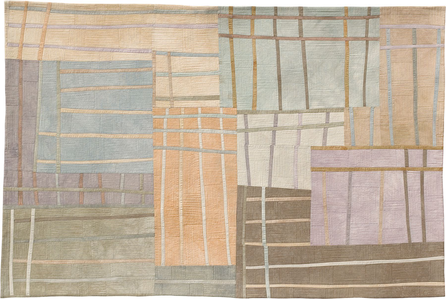 Lisa Call, Structures #35 ©2005. | Textile and Pattern | Pinterest