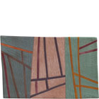 Abstract Contemporary Textile Painting / Art Quilt - Structures #70 ©2007 Lisa Call