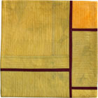 Abstract Contemporary Textile Painting / Art Quilt - Structures #83 ©2007 Lisa Call