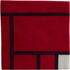 Abstract Contemporary Textile Painting / Art Quilt - Structures #92 ©2007 Lisa Call