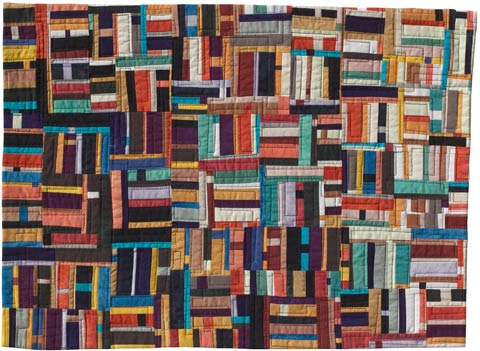 Contemporary Art Quilt Structures #6 ©2001 Lisa Call