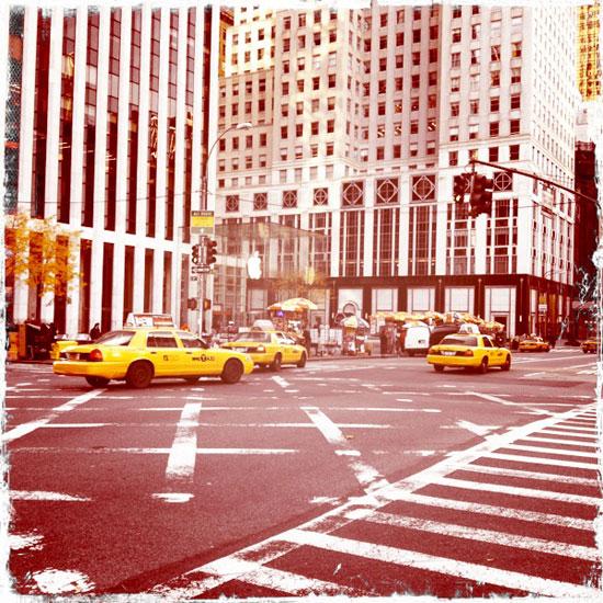 New York City ©2011 Lisa Call, Quilt Artist, Denver, Colorado