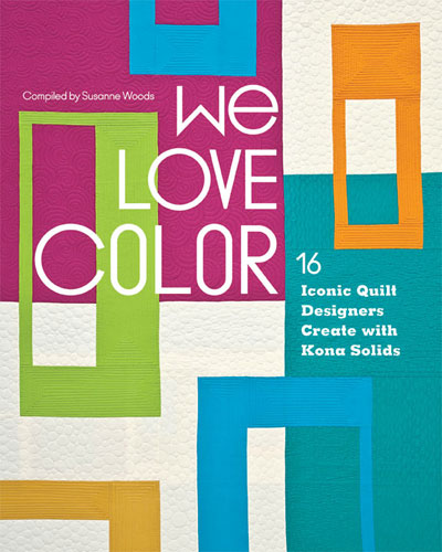 image of book cover - We Love Color