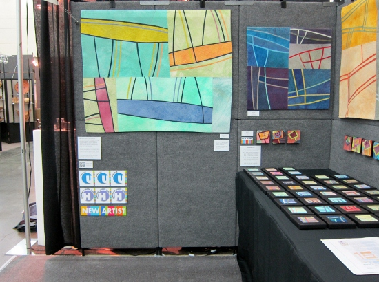 ACC Baltimore - Booth Set Up - Day 2 ©Lisa Call