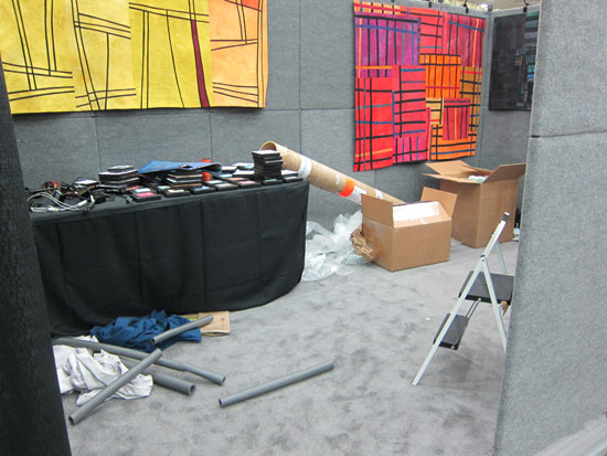 ACC Baltimore - Booth Teardown ©Lisa Call