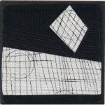 Day 12, Contemporary Textile Painting/ Abstract Modern Art Quilt, 100 Days Project, Artist Lisa Call, Waikanae Beach, Kapiti, New Zealand