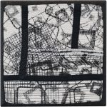Day 15, Contemporary Textile Painting/ Abstract Modern Art Quilt, 100 Days Project, Artist Lisa Call, Waikanae Beach, Kapiti, New Zealand