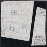 Day 25, Contemporary Textile Painting/ Abstract Modern Art Quilt, 100 Days Project, Artist Lisa Call, Waikanae Beach, Kapiti, New Zealand