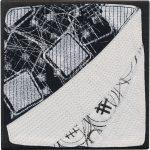 Day 64, Contemporary Textile Painting/ Abstract Modern Art Quilt, 100 Days Project, Artist Lisa Call, Waikanae Beach, Kapiti, New Zealand