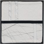 Day 8, Contemporary Textile Painting/ Abstract Modern Art Quilt, 100 Days Project, Artist Lisa Call, Waikanae Beach, Kapiti, New Zealand